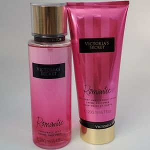 Victoria's Secret Romantic Hand Body Cream Mist